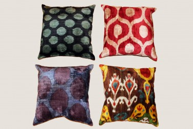 Ikat Pillow - 11 & 12 & 1 & 8