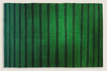 Atlas Kilim - Green Stripes