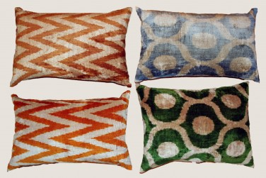 Ikat Pillow - 16 & 18 & 17 & 19