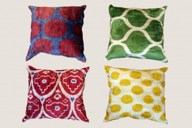 Ikat Pillow - 5 & 7 & 10 & 2