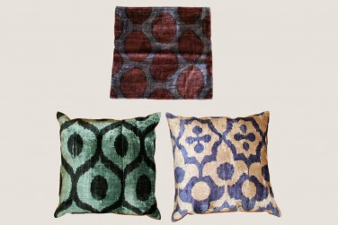 Ikat Pillow - 15 & 4 & 3
