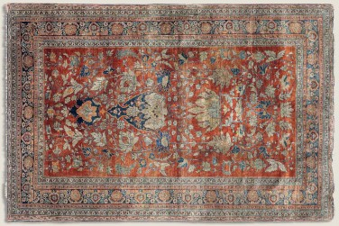 Antique – Silk Tabriz 1